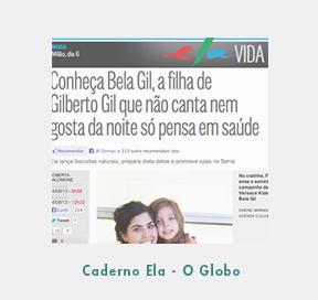 Caderno Ela - O Globo