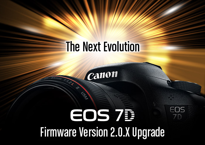 Canon 7D Firmware Ipgrade