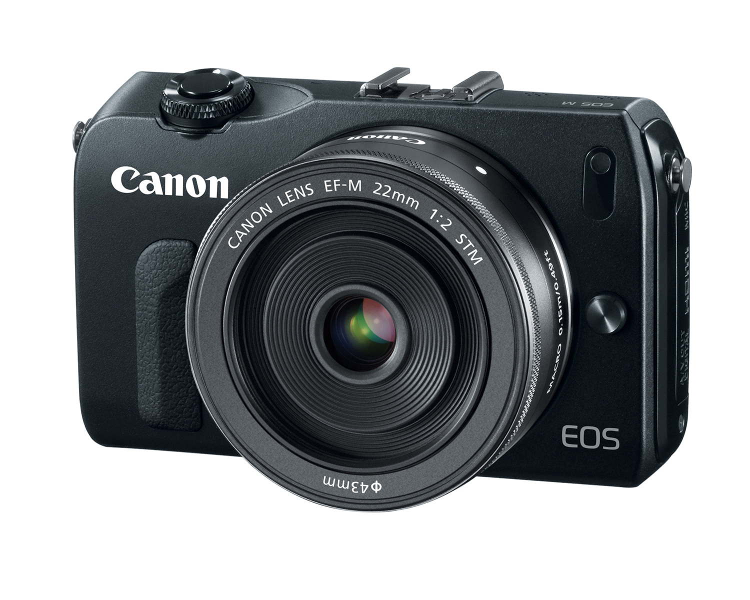Canon EOS-M Mirrorless Digital Camera