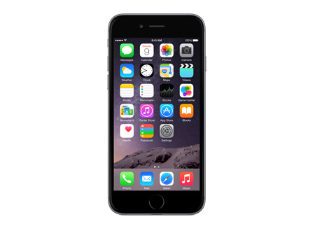 Apple iPhone 6, 128GB Black, Verizon