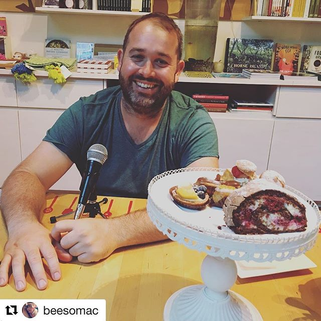 #Repost @beesomac with @repostapp ・・・ Yes I did eat all of those @flourandchocolate goodies. Not much of me talking this week.