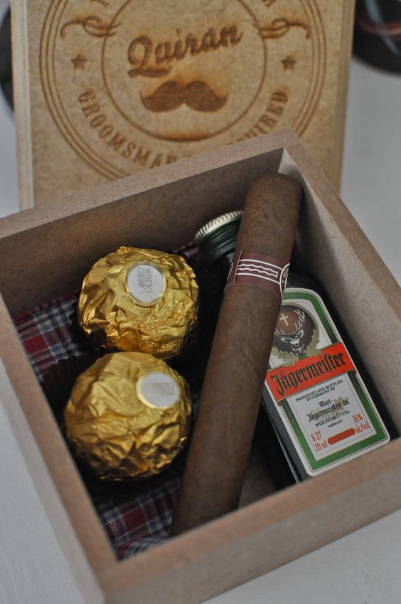 Box of Chocolates (and Jager)