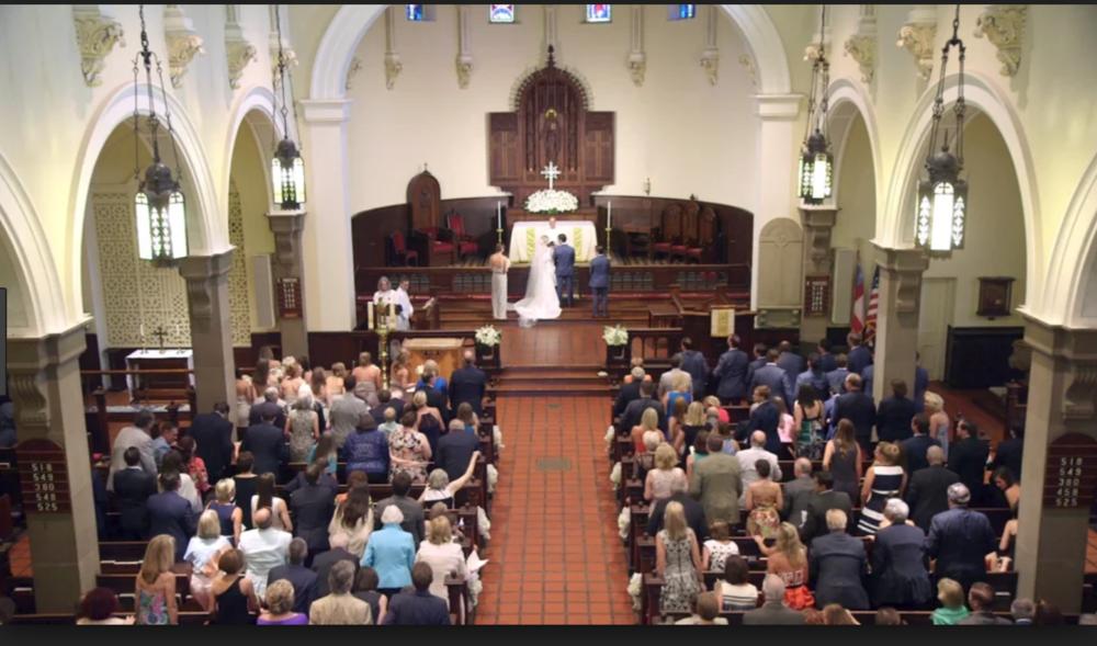 St. Anne's Annapolis Wedding