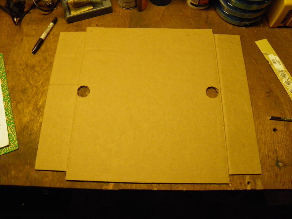 Reflector Cardboard Cut with Knife