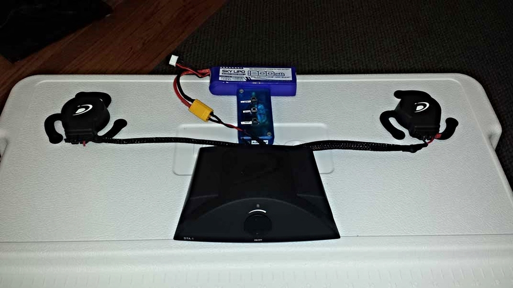 Bluetooth Adapter and LiPo Battery