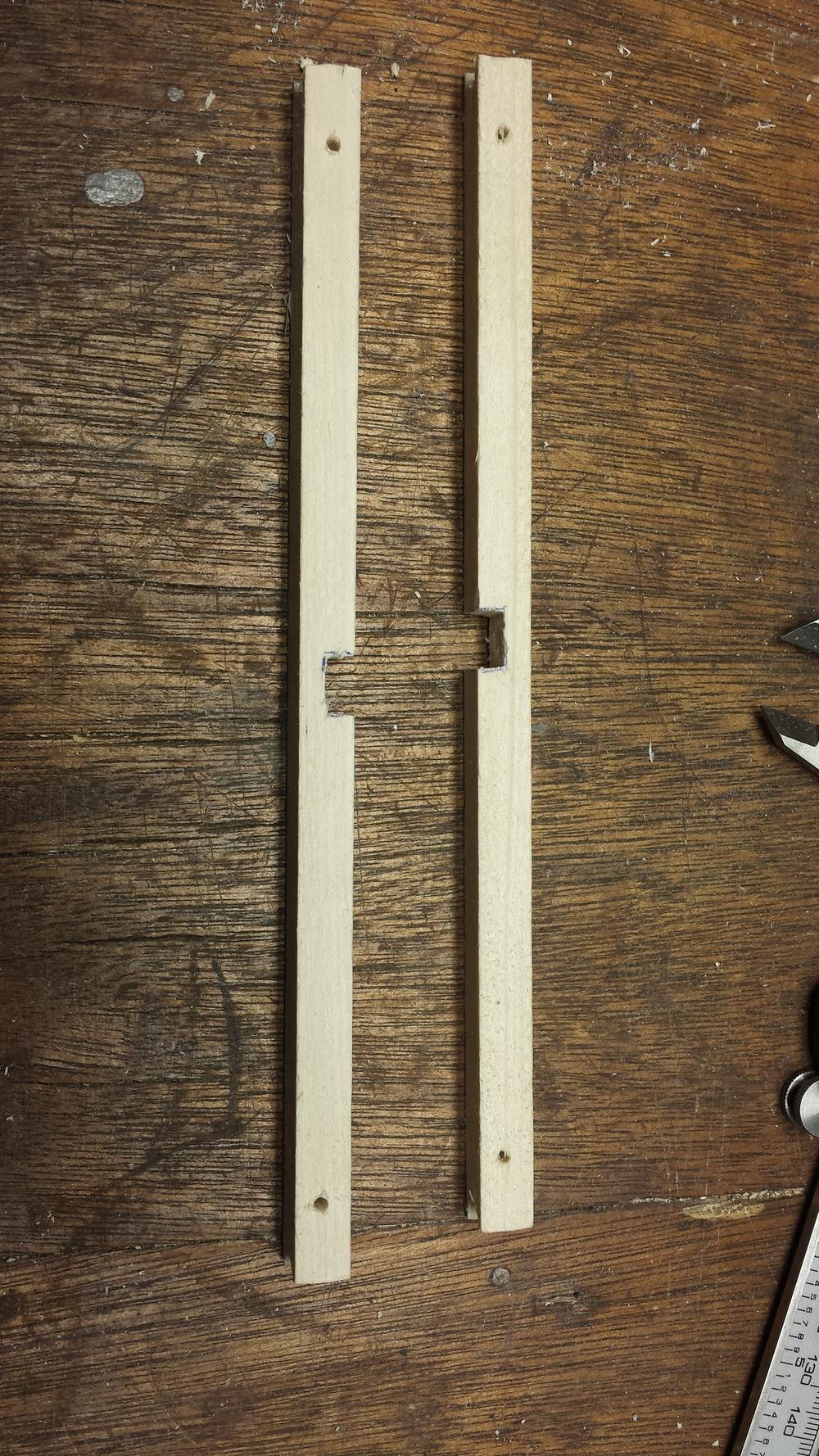 Zip Tie Mounting Holes