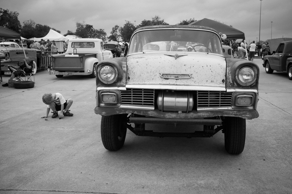 Let's go! Photo from the  Lonestar Roundup  a few years back
