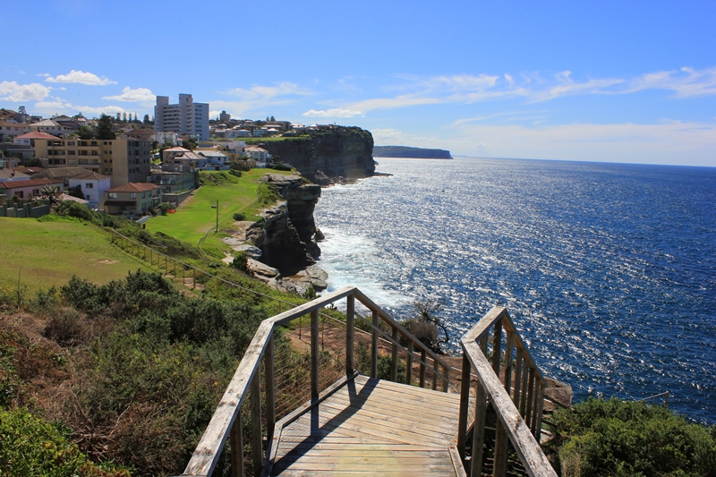 The Federation Cliff Walk Dover Heights Sydney
