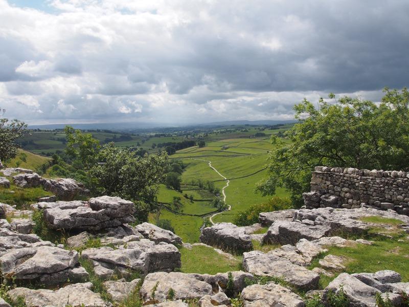 Malham Yorkshire Dales England