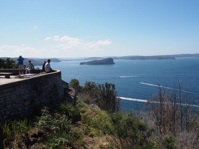 Mackerel Beach, West Head Lookout and Red Hands Cave Trek, Sydney