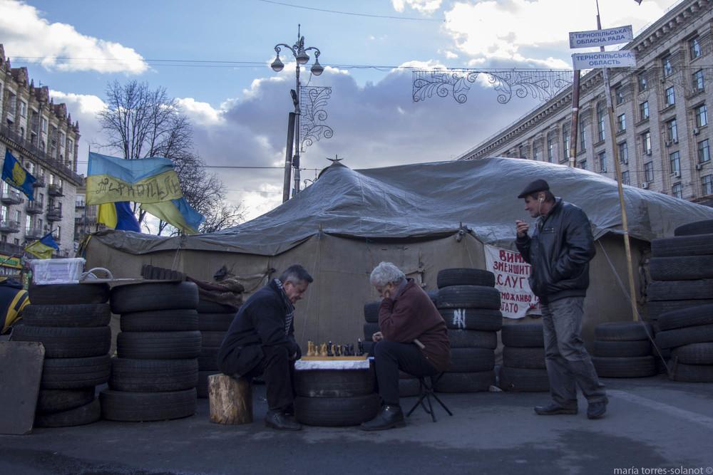 Maidan. Kiev (Ucrania). Marzo 2014. Foto: María Torres-Solanot ©