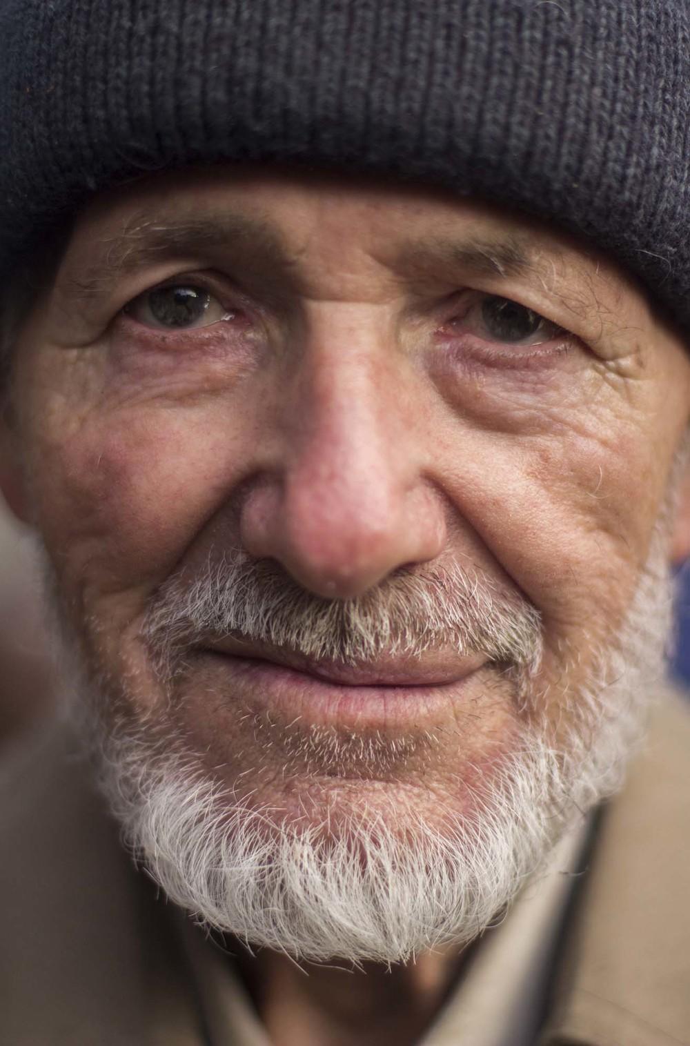 Retrato de Bronislao. Maidan. Plaza de la Independencia de Kiev. Foto: María Torres-Solanot ©