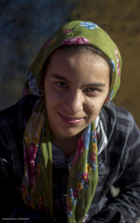 Kurdish girl in Turkish Kurdistan