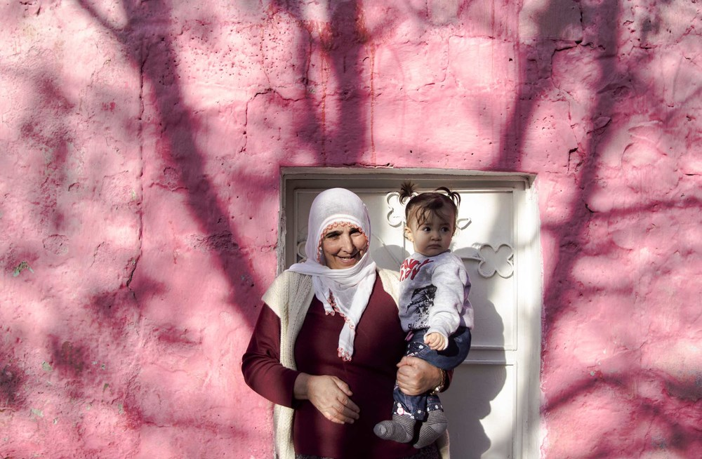 Kurdish grandmother