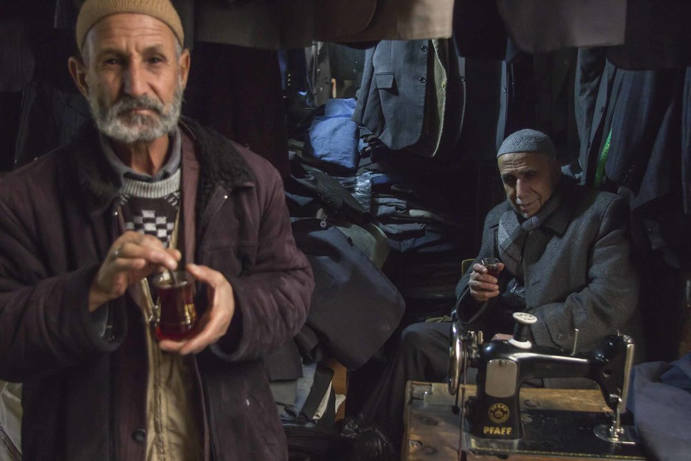 Two tailor muslim men