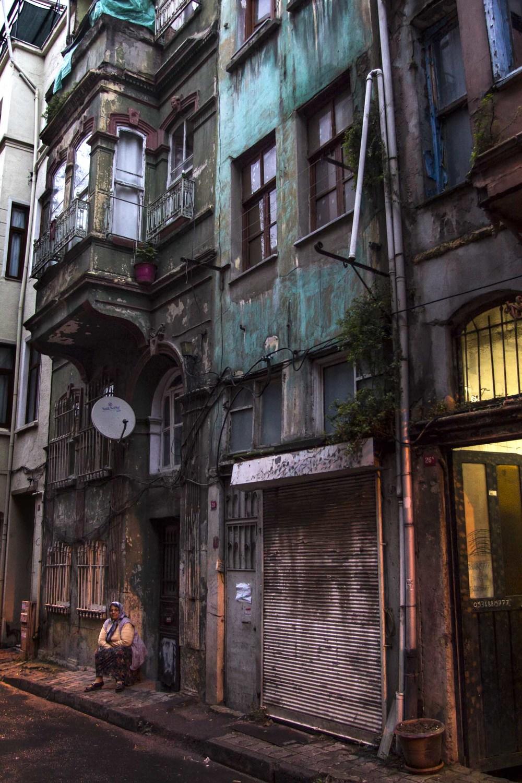 Abandoned and beautiful Balat
