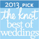 Won The Knot Best of Weddings for our wedding videography work.