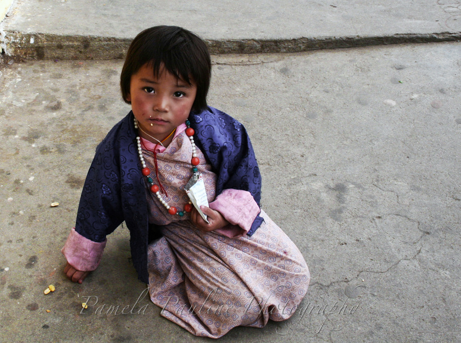 Young Bhutanese Girl