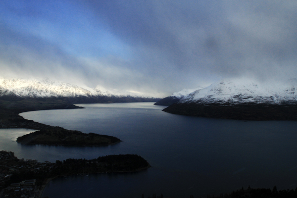 View over Lake Wakatipu