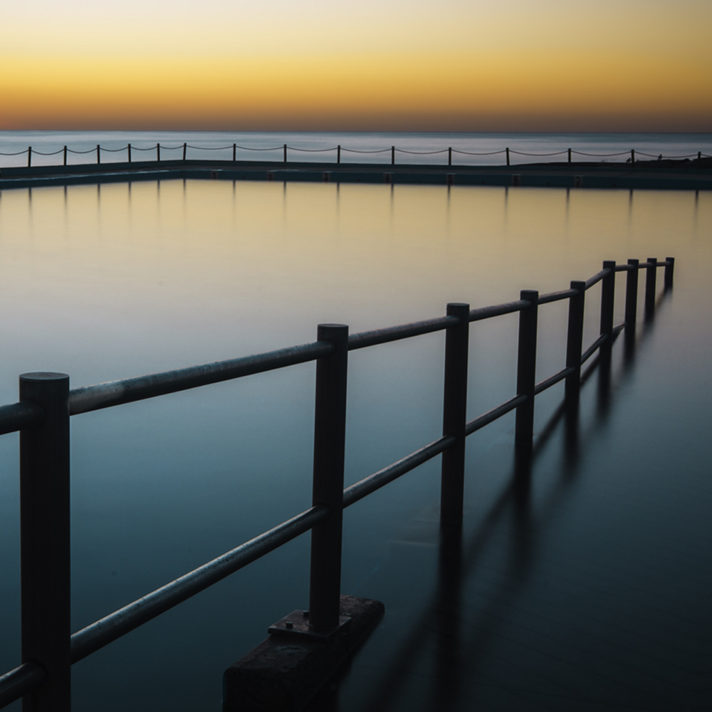 Sunrise at Dee Why Ocean Pool #1
