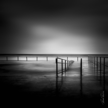 Collaroy Pool in BW
