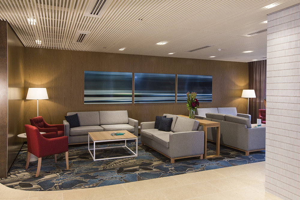 Translucence Triptych at Arcadia Pittwater Private Hospital