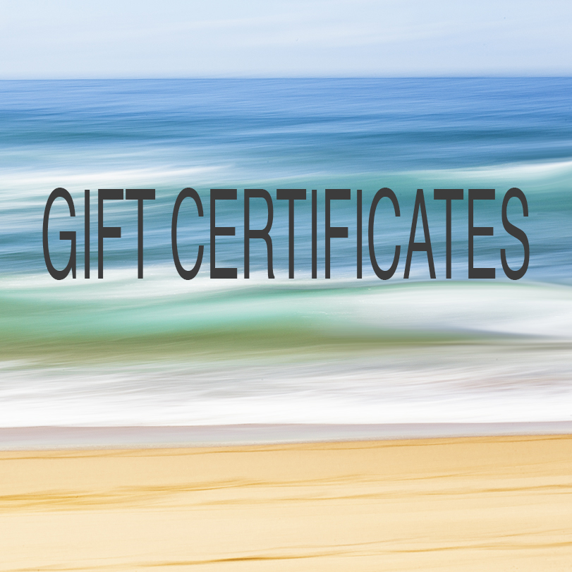 GIFT CERTIFICATES…The perfect Gift for the Photography Lover!