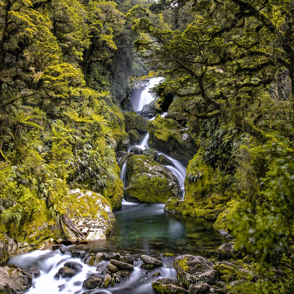 Mackay Falls, South Island