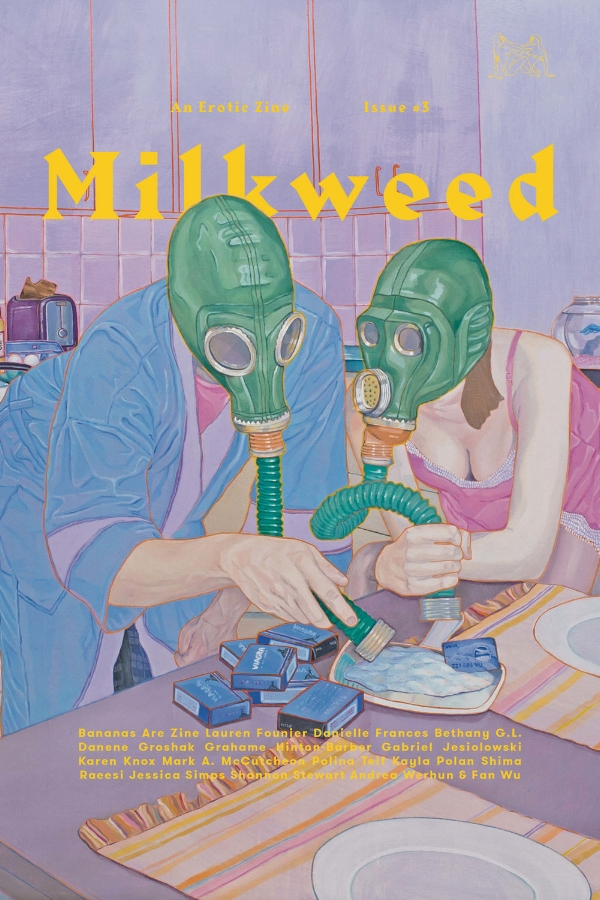 Released March 2017. Milkweed Issue III focuses on privacy & visibility.