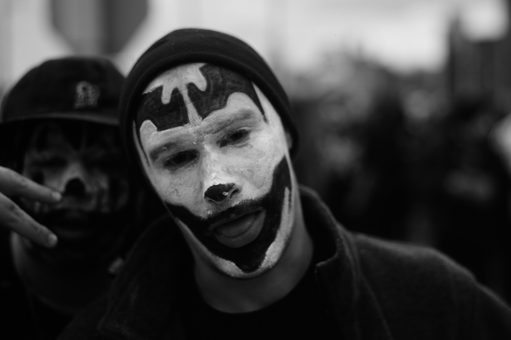 Juggalo.  Windsor/Detroit, 2013.