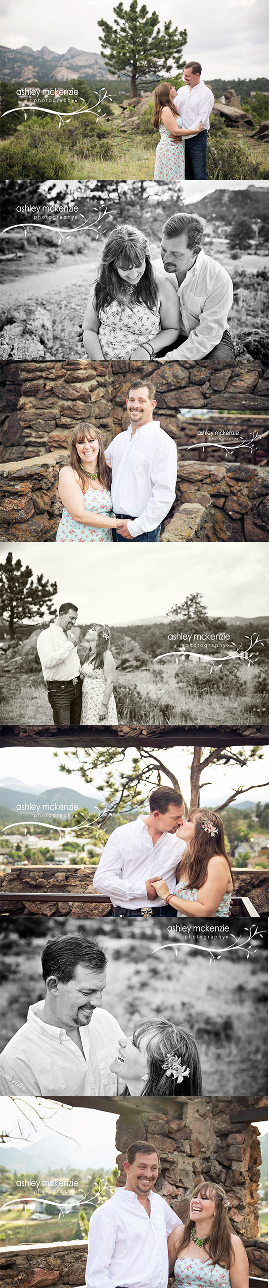 Engagement Photography Session By Ashley McKenzie Photography in Estes Park, CO