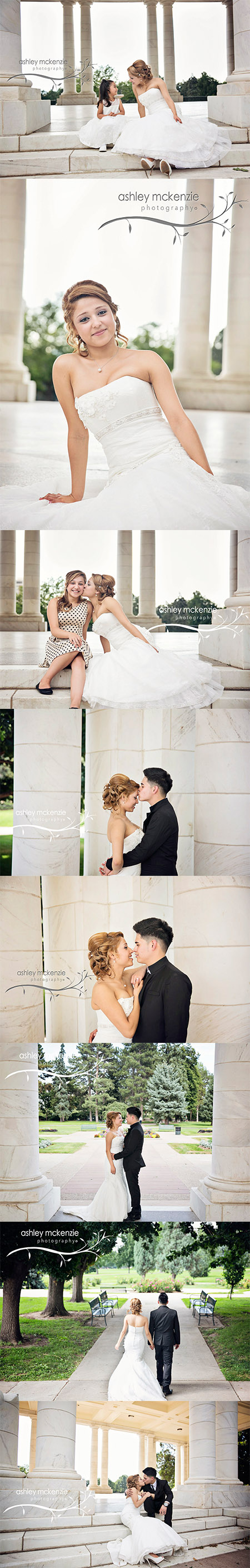 Wedding Photography By Ashley McKenzie Photography in Denver, Colorado