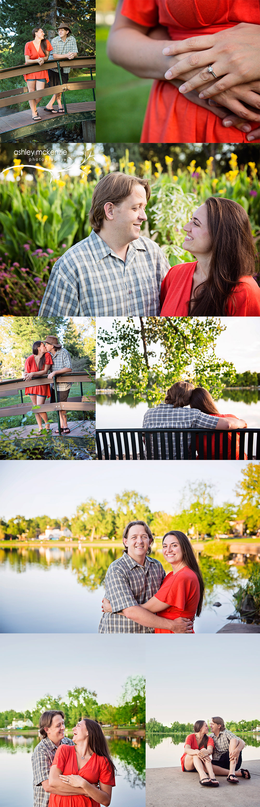 Engagement Photography by Ashley McKenzie Photography at Washington Park in Denver, CO