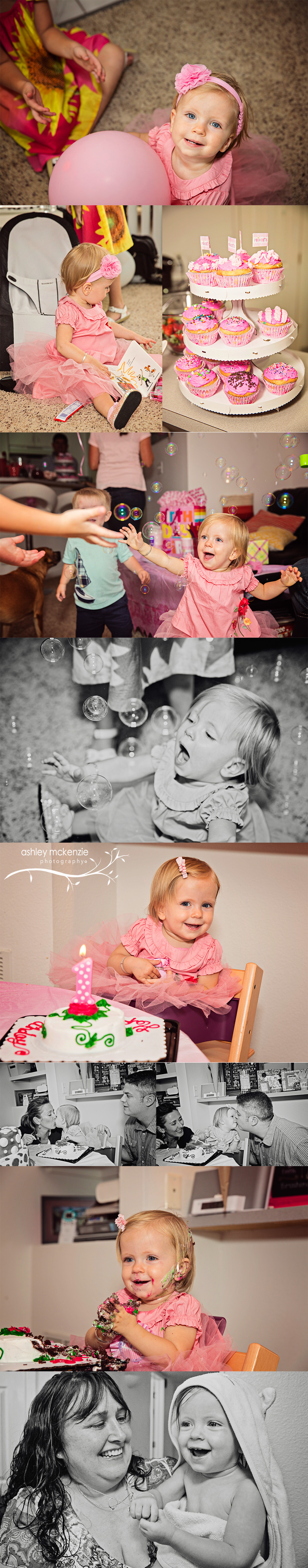 Cake Smash Baby Photography by Ashley McKenzie Photography in Longmont, CO
