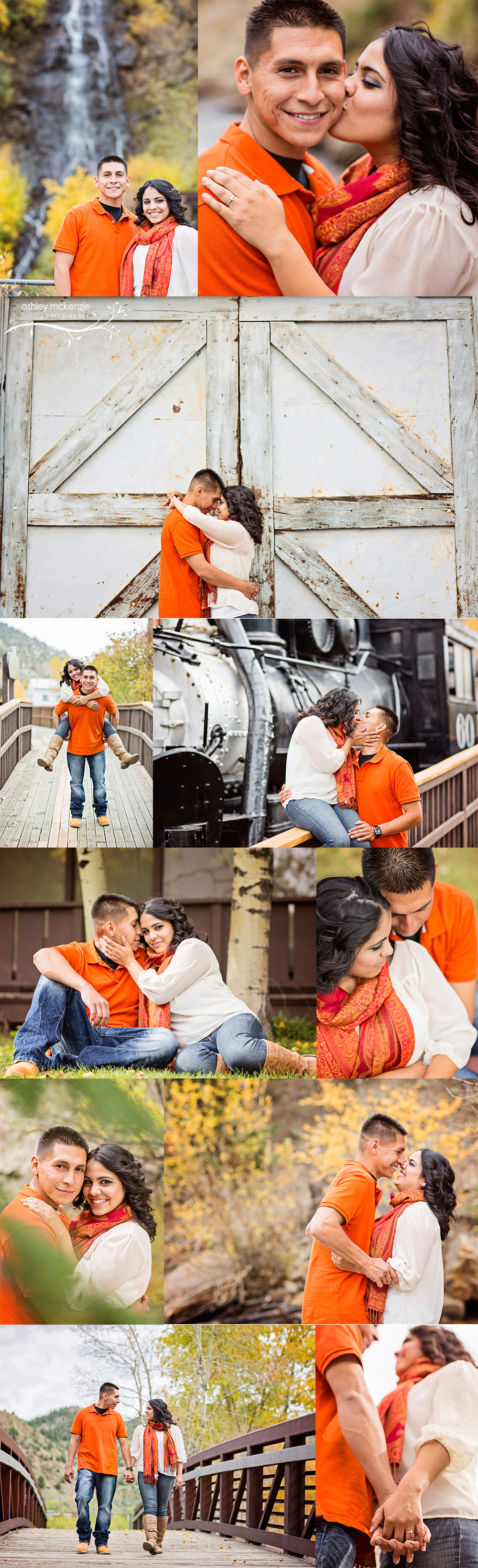 Engagement Photography by Ashley McKenzie Photography in Idaho Springs, CO