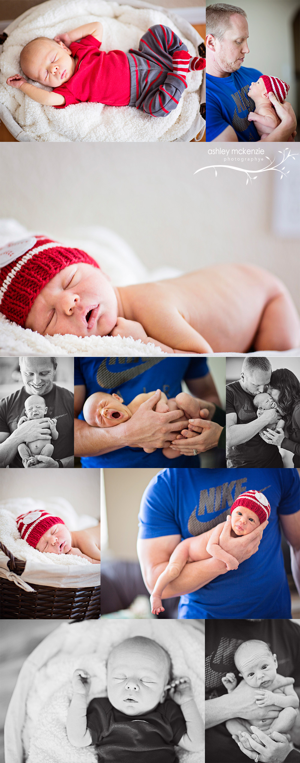Lifestyle Newborn Photography by Ashley McKenzie Photography in Greeley, CO