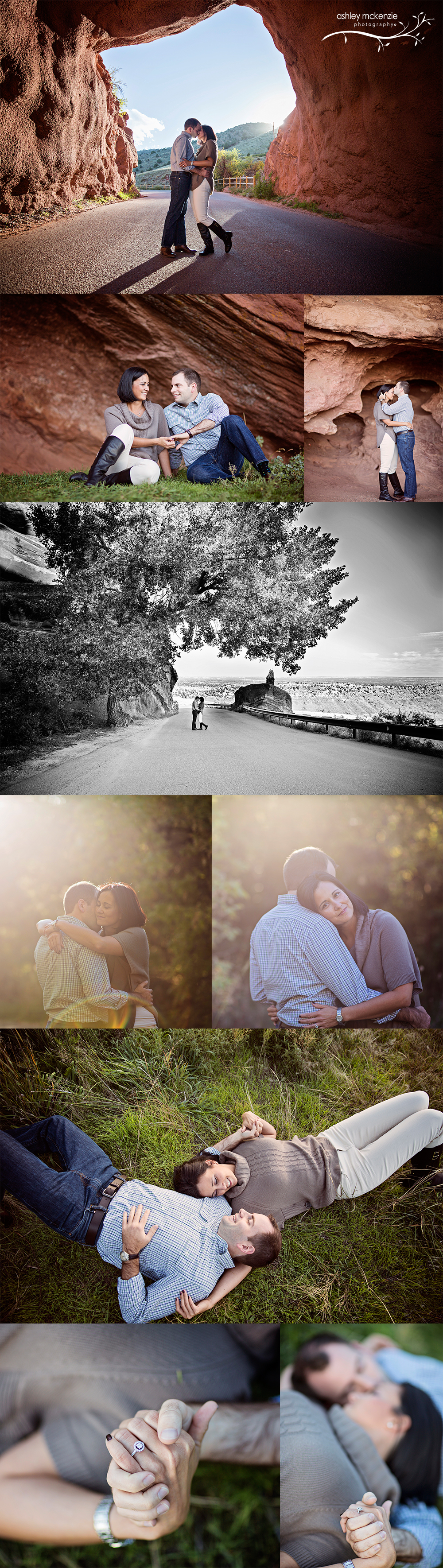 Engagement Photography by Ashley McKenzie Photography in Morrison, CO