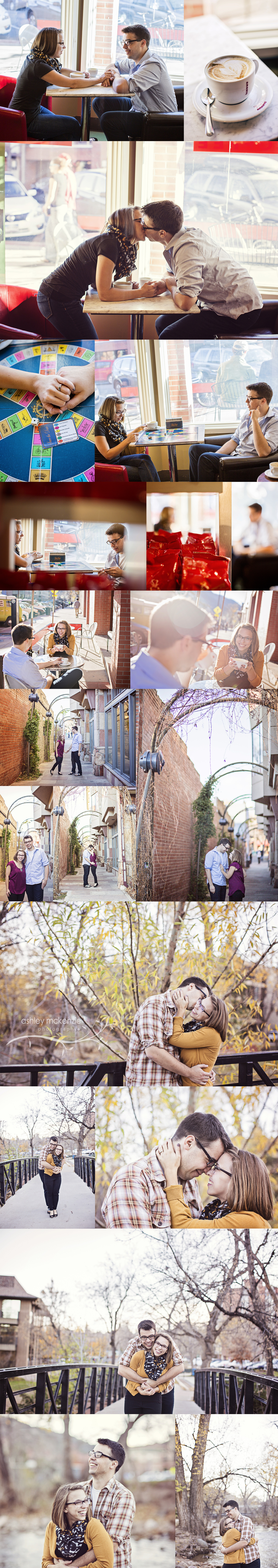 Engagement Photography by Ashley McKenzie Photography in Boulder, CO