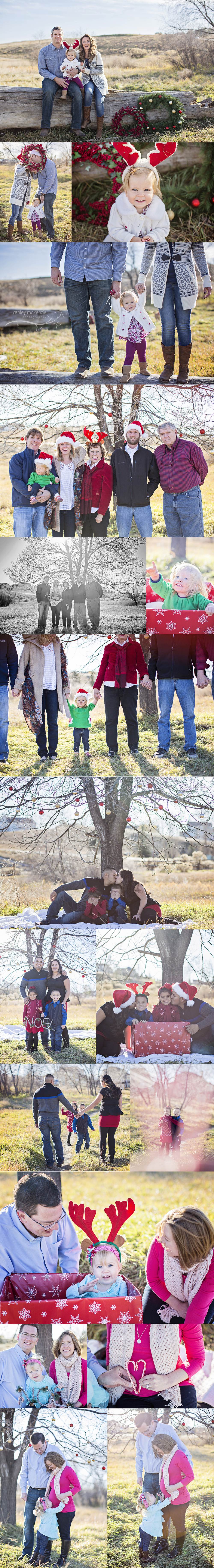 Holiday Photos by Ashley McKenzie Photography in Windsor, CO