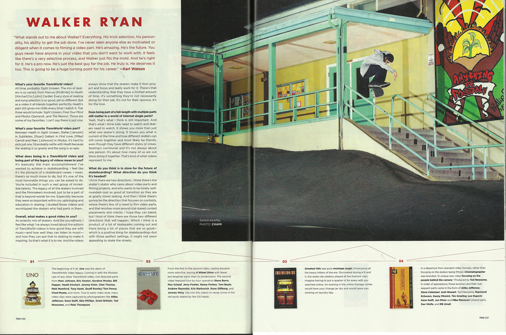 Transworld October 2012