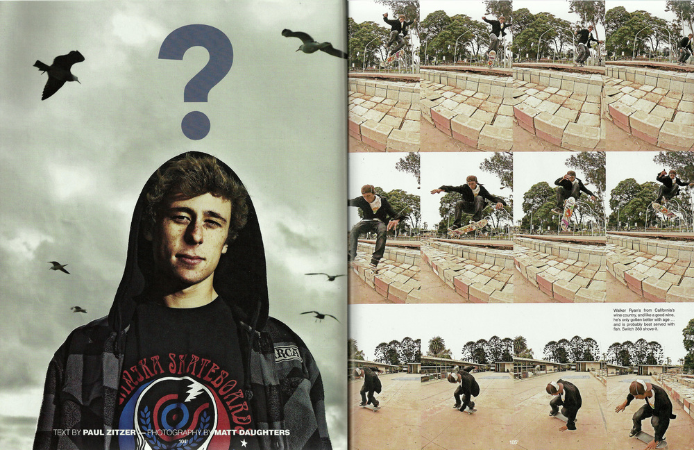 The Skateboard Mag June 2008
