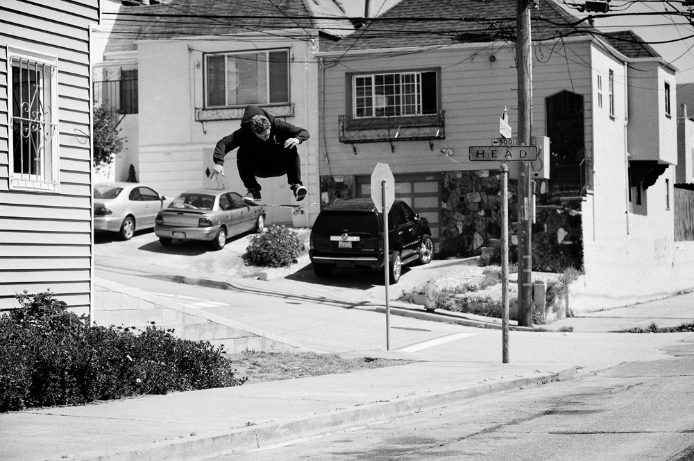 Kickflip by Dave Chami, San Francisco