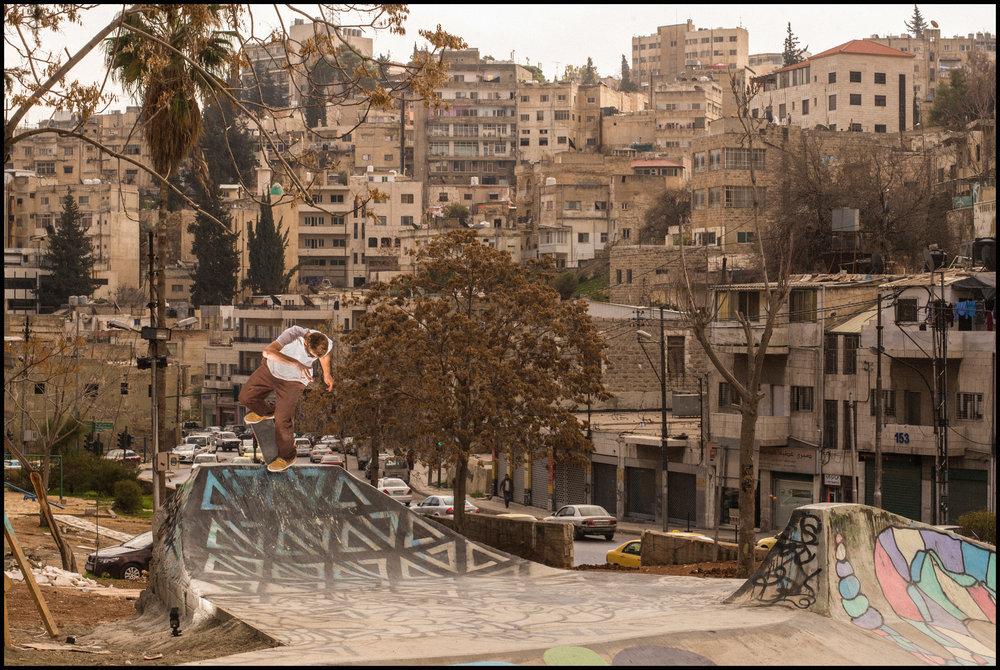 Backside Noseblunt by Patrik Wallner in Amman, Jordan