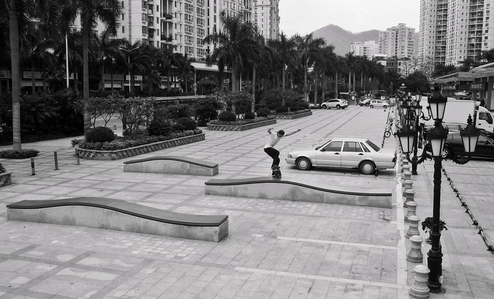 Noseblunt by Patrik Wallner in Shenzhen, China