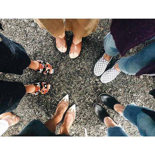 Fun shoe game @beingoodcompany kickoff party @serenaandlily! 👡👠👞👟♥️ #serenaandlily