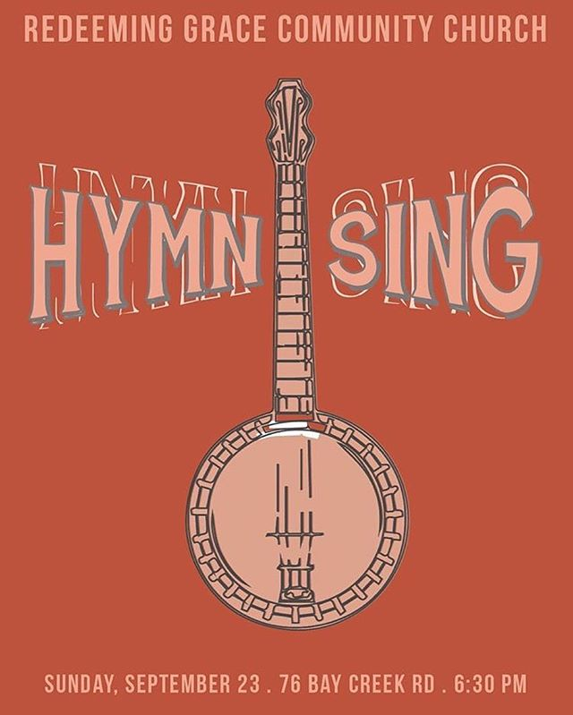 THIS SUNDAY !!! We are so excited for our second annual Hymn Sing where we get to come together to sing, learn, and worship together. We are expecting a full house but there will still always be a seat for YOU! • come out in the morning at 10:30 for our regular weekly worship time and then come back at 6:30 for the Hymn Sing. We cannot wait! 🧡💛🧡💛