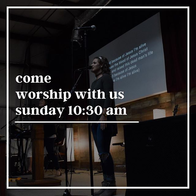 Don't miss this Sunday! Bring yourself and a friend! #rgcc #sunday