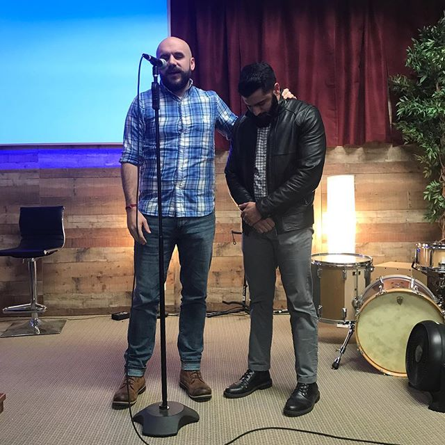 Always a great day when someone new becomes a member of our church. So thankful for @dilshansingh_ and how God has brought him to be a part of our church family!