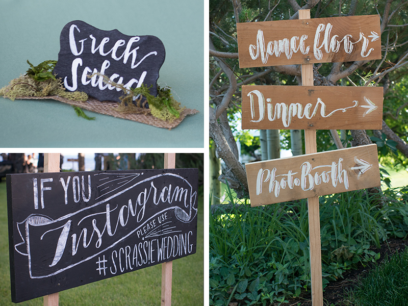 Wedding Environmental Graphics
