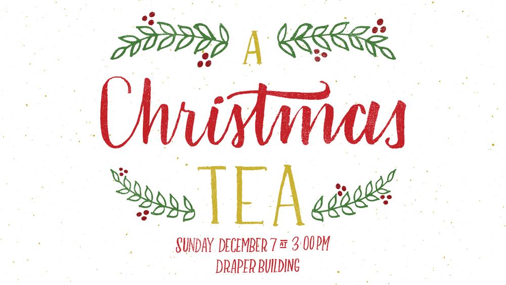 Christmas Tea Branding